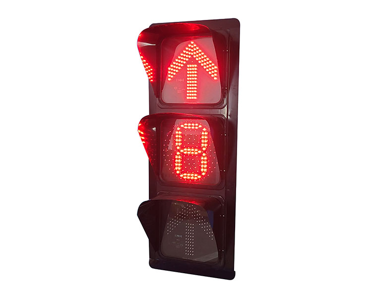甘肃单8数显箭头信号灯