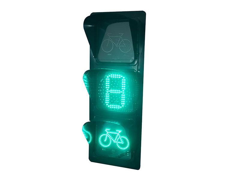 单8数显非机动车信号灯满足交通灯的一般要